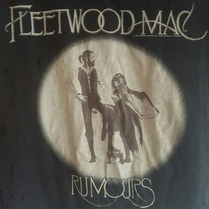 Free People Tops - Fleetwood Mac Distressed V Neck M